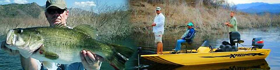Lake Picachos and Lake Comedero bass fishing guide