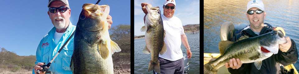 Brazil and Mexico trophy bass fishing, including Lake Picachos and El Salto