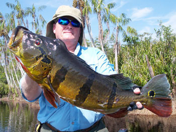 Brazil fishing adventures with Ron Speed