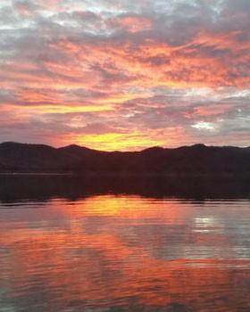 Comedero2015_0001_Beautiful Sunset over Lake Comedero