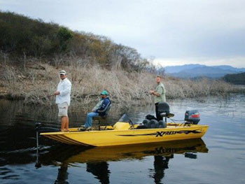 Mexico bass fishing tours