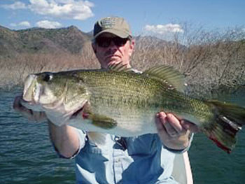 Mexico's best bass fishing lakes