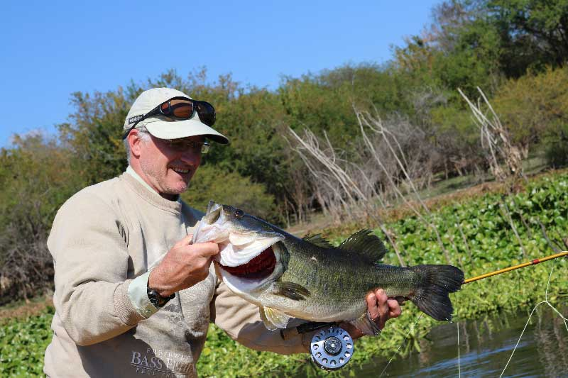 Mexico bass fly fishing